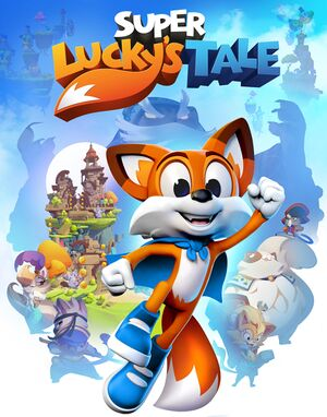 Super Lucky's Tale cover