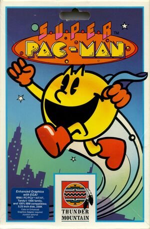 Super Pac-Man cover