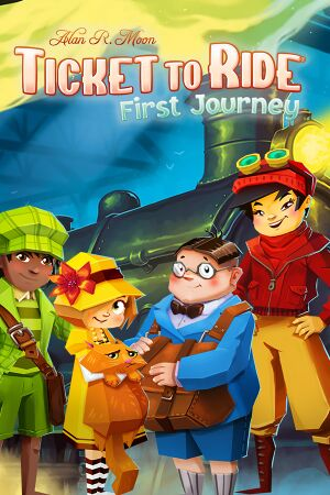 Ticket to Ride: First Journey cover