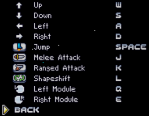 Remapping keyboard controls.