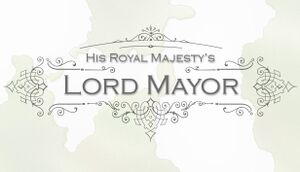 Lord Mayor cover