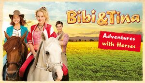 Bibi & Tina - Adventures with Horses cover