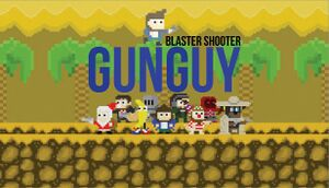 Blaster Shooter GunGuy! cover