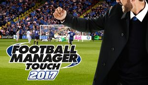 Football Manager Touch 2017 cover