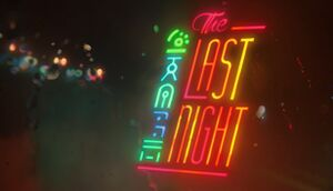 The Last Night cover