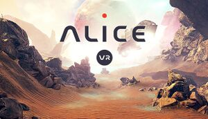 Alice VR cover