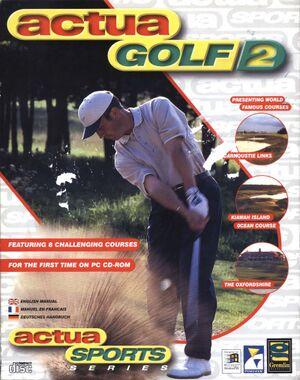 Actua Golf 2 cover