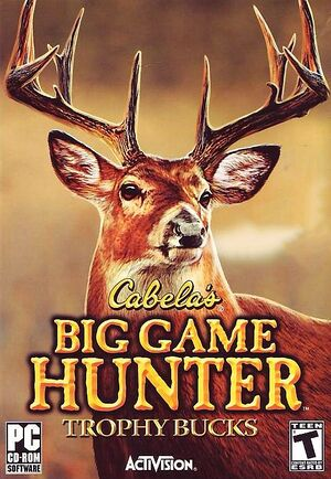 Cabela's Big Game Hunter Trophy Bucks cover