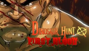 Dinosaur Hunt First Blood cover