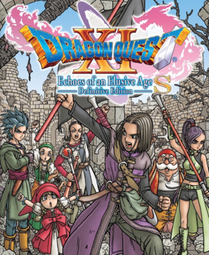 Dragon Quest XI S:Echoes of an Elusive Age -Definitive Edition cover