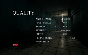 In-game quality settings
