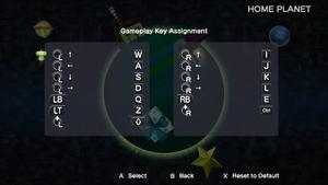 Keyboard bindings
