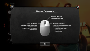 In-game Mouse Layout.