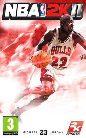 NBA 2K11 cover