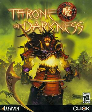 Throne of Darkness cover