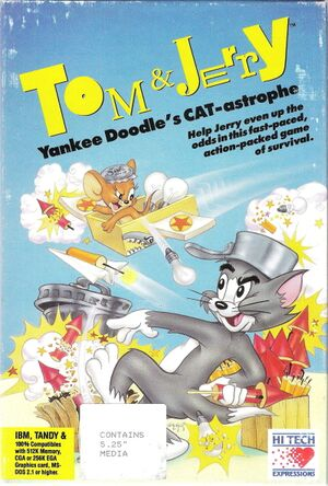 Tom & Jerry: Yankee Doodle's CAT-astrophe cover