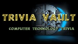 Trivia Vault: Technology Trivia Deluxe cover