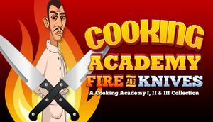 Cooking Academy Fire and Knives cover