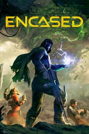 Encased: A Sci-Fi Post-Apocalyptic RPG cover