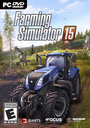 Farming Simulator 15 cover