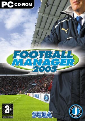 Football Manager 2005 cover