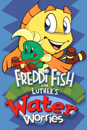 Freddi Fish and Luther's Water Worries cover