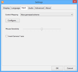 Launcher general control settings.