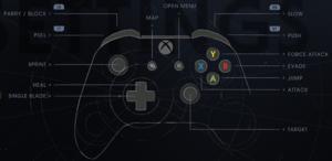 Xbox bindings