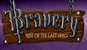 Bravery: Rise of The Last Hero cover