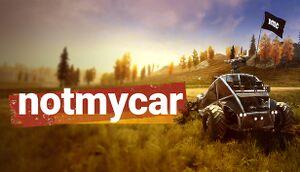 Notmycar cover