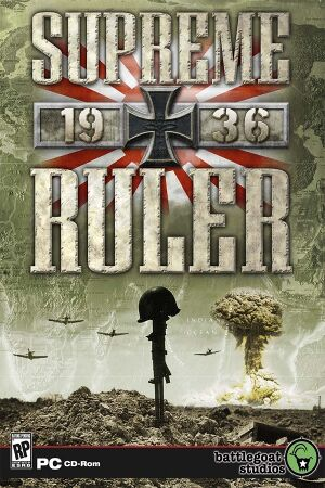 Supreme Ruler 1936 cover