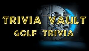Trivia Vault: Golf Trivia cover