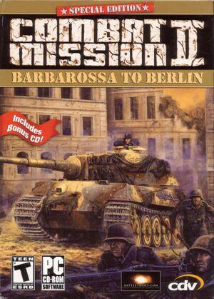 Combat Mission II: Barbarossa to Berlin cover