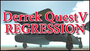Derrek Quest V: Regression cover