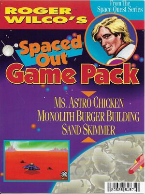 Roger Wilco's Spaced Out Game Pack cover