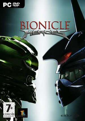 Bionicle Heroes cover