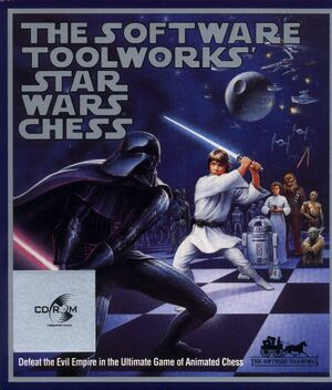 The Software Toolworks' Star Wars Chess cover