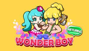 Wonder Boy Returns cover