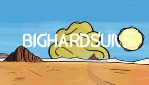 BIGHARDSUN cover