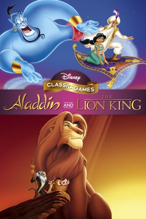 Disney Classic Games:Aladdin and The Lion King cover