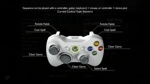 Controller keys and methods.