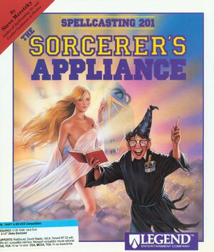 Spellcasting 201: The Sorcerer's Appliance cover