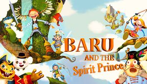 Baru and the Spirit Prince cover