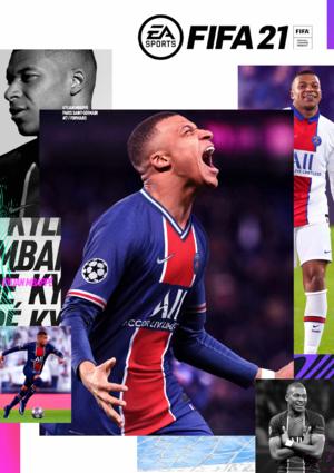 EA SPORTS FIFA 21 cover