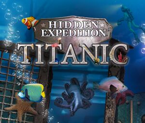 Hidden Expedition: Titanic cover