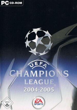 UEFA Champions League 2004-2005 cover