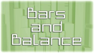 Bars and Balance cover