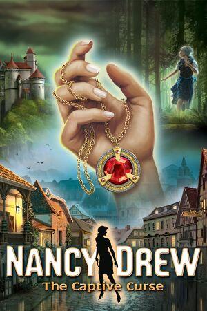 Nancy Drew: The Captive Curse cover