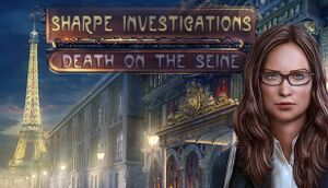 Sharpe Investigations: Death on the Seine cover