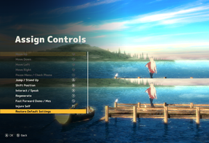 In-game controller remappingsettings.